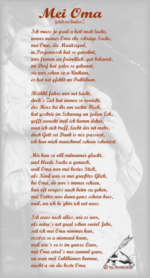 Danke Oma Und Opa Gedicht